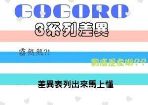 【Gogoro3系列與S3】高CP!完整評價、操作與10項配備差異比較